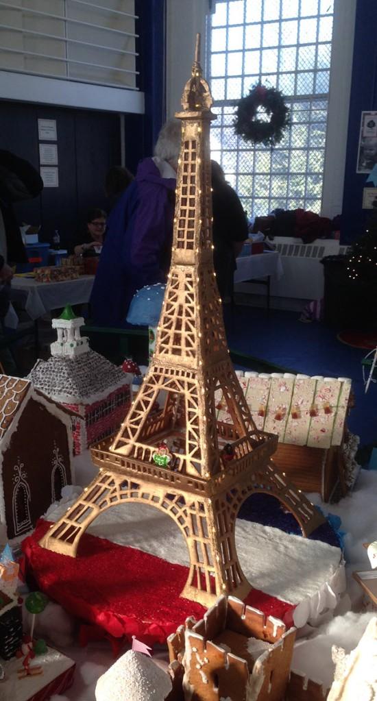 Eiffel Gingerbread Tower